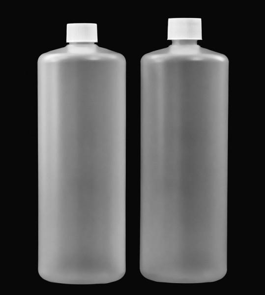 RUNDFLASCHE 1000 ml mit Verschluss piccolina