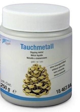 Tauchmetall 250g CREARTEC ARTIDEE waldkindergarten piccolina