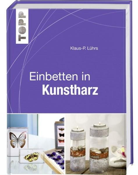 Buch Einbetten in Kunstharz Klaus-Peter Lührs Anleitungsbuch Giessharz piccolina
