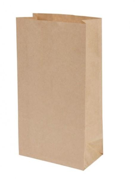 BLOCKBODENBEUTEL aus Kraftpapier - unbeschichtet