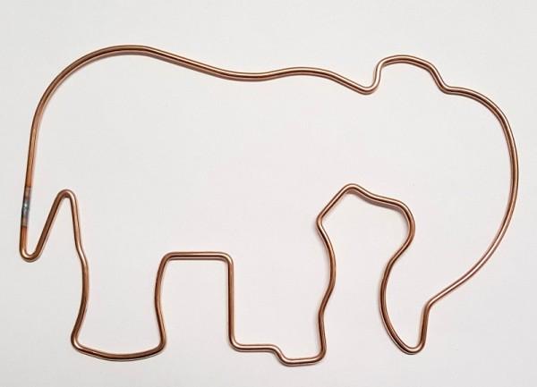 Rahemnform Drahtform colouraplast elefant piccolina creartec artidee