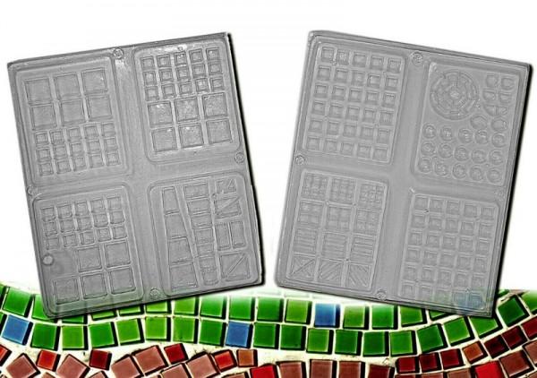 "Mosaikform ""Miniatursteine 2-fach"" ARTIDEE CREARTEC piccolina"