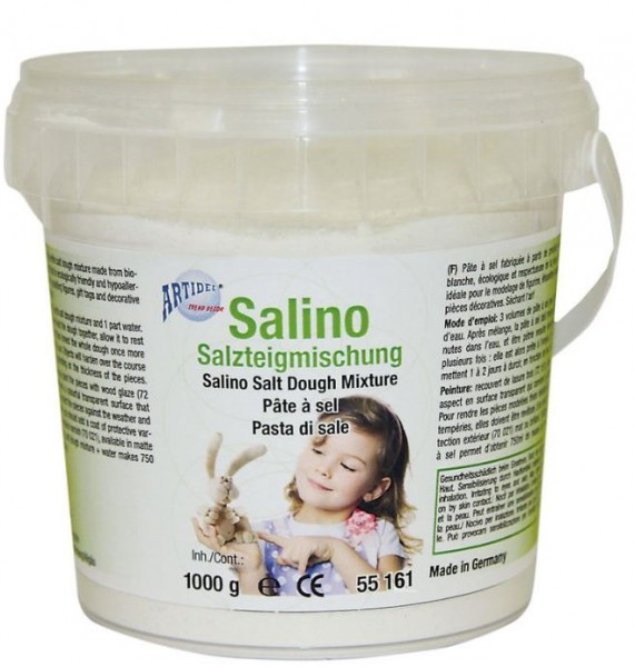 SALINO Salzteigmischung natural 1000g CREARTEC ARTIDEE PICCOLINA
