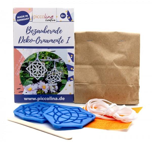 Bastel-Set BEZAUBERNDE DEKO-ORNAMENTE I piccolina Ceramistone 01021