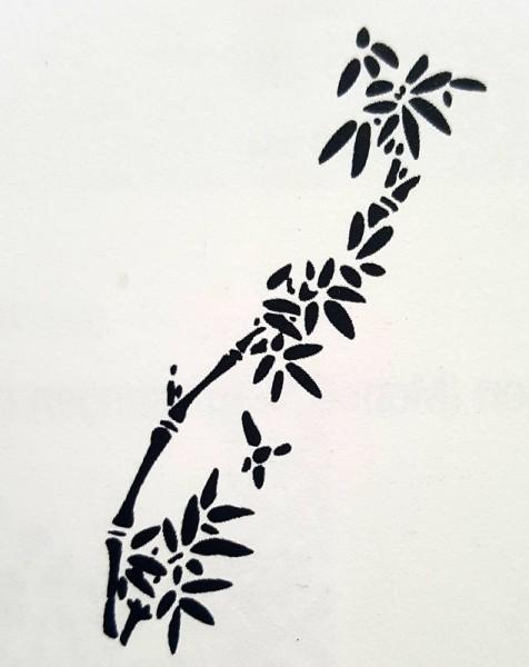 Artidee, Schablonen, creartec, Bambus, piccolina