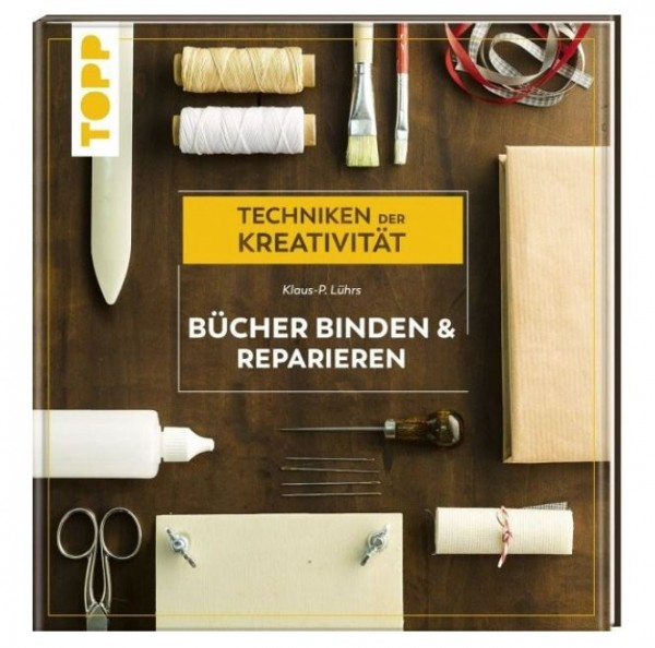 "Buch ""Bücher binden & reparieren"" CREARTEC ARTIDEE Klaus-Peter Lührs piccolina creativa"