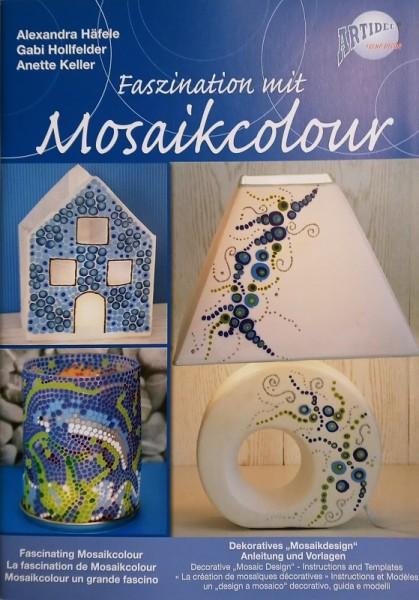"Vorlagenmappe/Anleitung ""Faszination mit Mosaikcolour"" CREARTEC ARTIDEE piccolina"
