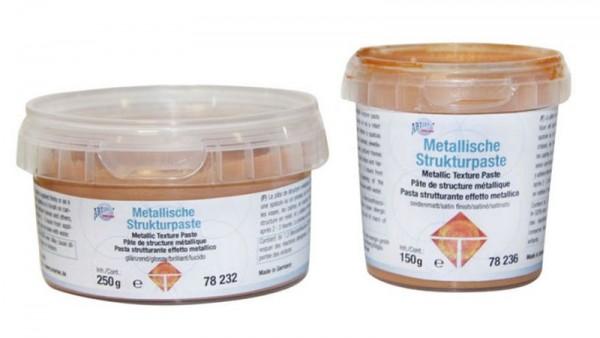 Metallische Strukturpasten Creartec artidee
