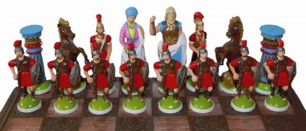 Schachfigurensatz Schachfiguren Römer creartec artidee piccolina waldkindergartenbedarf
