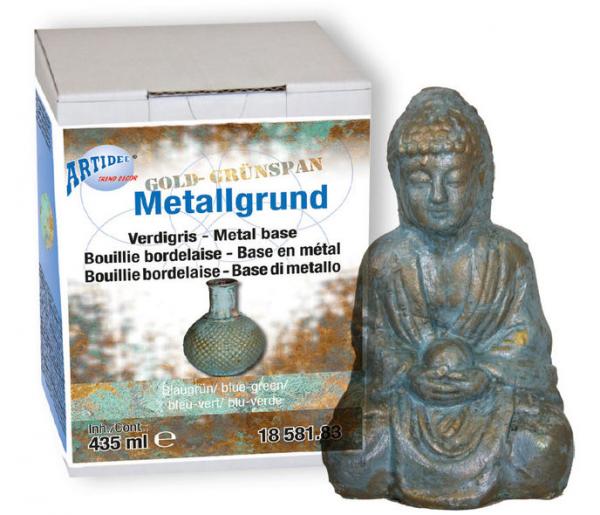 Metallgrund grünspan creartec artidee