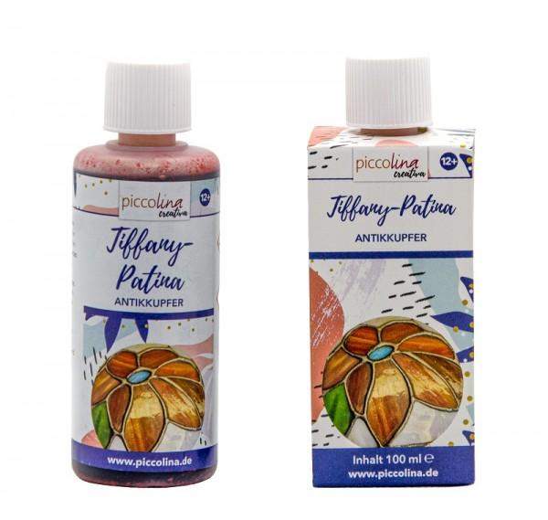 TIFFANY-PATINA antikkupfer 100 ml PICCOLINA CREATIVA