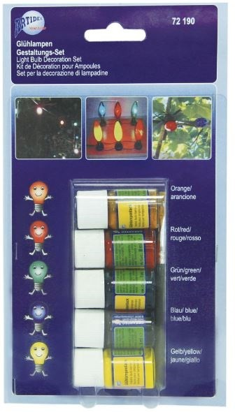 Glühlampenlack creartec artidee piccolina waldkindergarten