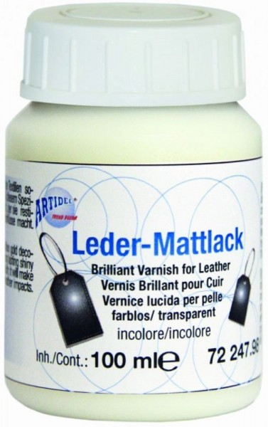 Leder-Mattlack Leder-Glanzlack creartec artidee