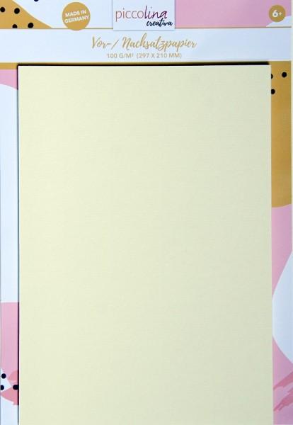 Vor- / Nachsatzpapier PICCOLINA CREATIVA Buchbinden