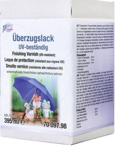Überzugslack UV-beständig seidenmatt 395 ml CREARTEC ARTIDEE