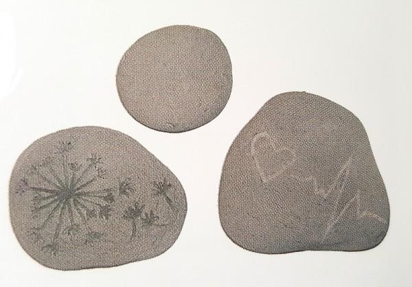 Reliefform Steine 3-fach creartec artidee beton