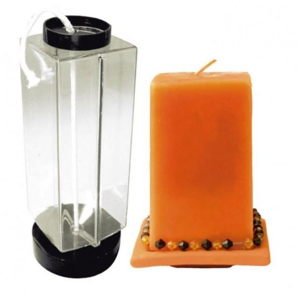 Kerzengiessform-System (Kunststoff) 4-eckig ARTIDEE CREARTEC