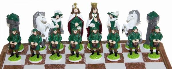 Schachfiguren-Satz Schachfigurenformen Britannien Artidee creartec piccolina