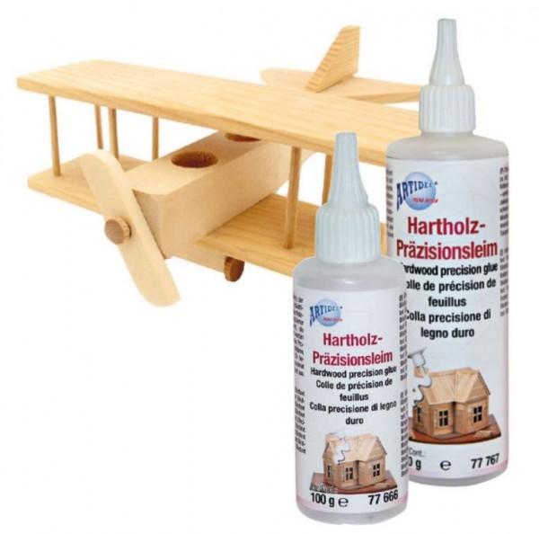 Hartholz-Präzisionsleim, creartec, artidee piccolina waldkindergarten holzarbeiten