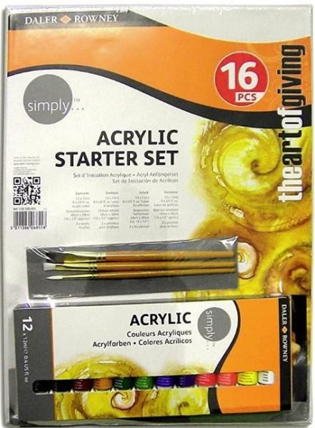 ACRYLIC STARTER-SET Daler & Rowney