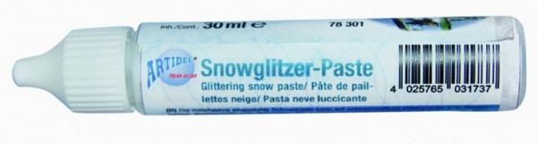 Snowglitzerpaste creartec artidee piccolina waldkindergarten