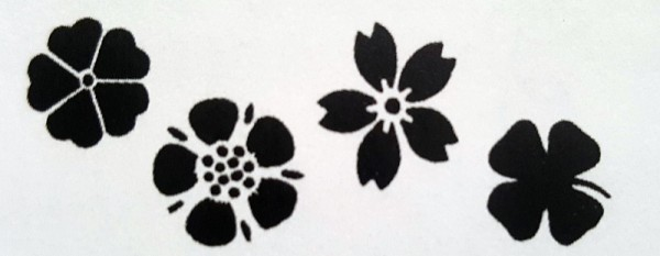 Schablone Blütenzauber CREARTEC ARTIDEE piccolina