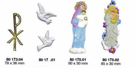 Verzierwachs-Symbole CEARTEC ARTIDEE piccolina