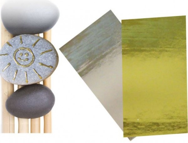 Metallic-Effectfolie GOLD & SILBER ARTIDEE CREARTEC piccolina