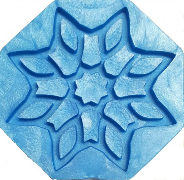 Elastische Silikonform FLOWER-STAR piccolina