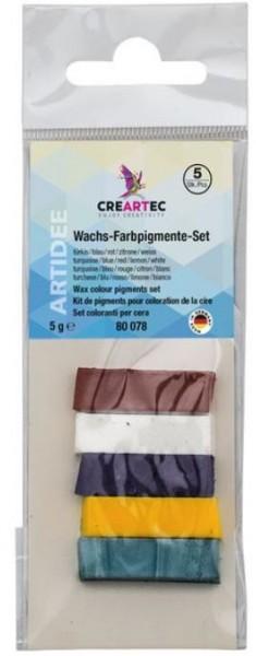 Candela-Wachsfarbpigment-SET - CREARTEC ARTIDEE piccolina