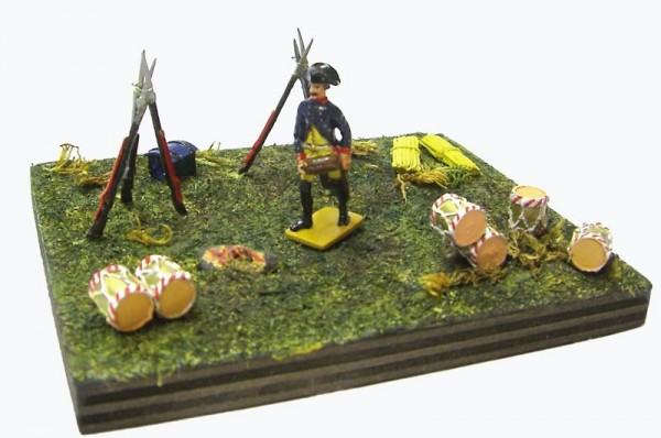 Siliconform BIWAKSZENE II (Soldat ruhend) CREARTEC ARTIDEE piccolina creativa