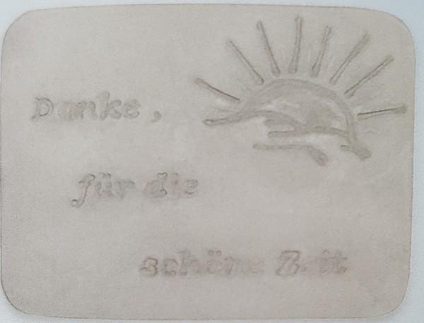 Reliefform Gedenk- und Erinnerungsstein - ARTIDEE CREARTEC piccolina